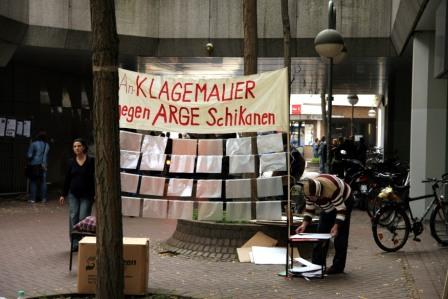 Bilder des 1. Tages AktionsCamp ARGE Köln